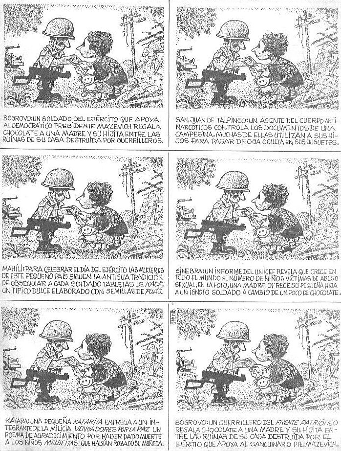 Quino - comic strip